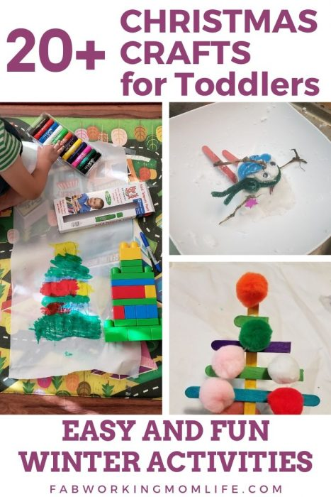 20 plus christmas crafts for toddlers