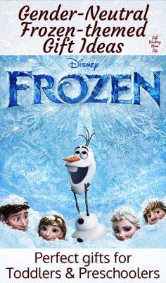 Gender-Neutral Frozen-themed Gift Ideas