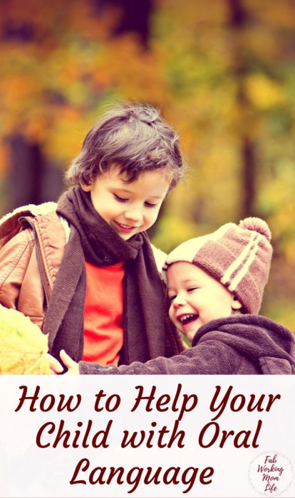 How to help your child with oral language from an early age   Fab Working Mom Life