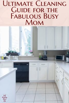 Ultimate Cleaning Guide for the Fabulous Busy Mom