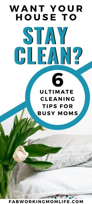 want your house to stay clean