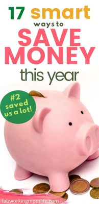17 smart ways to save money this year