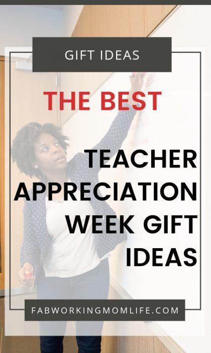 best teacher appreciation week gift ideas