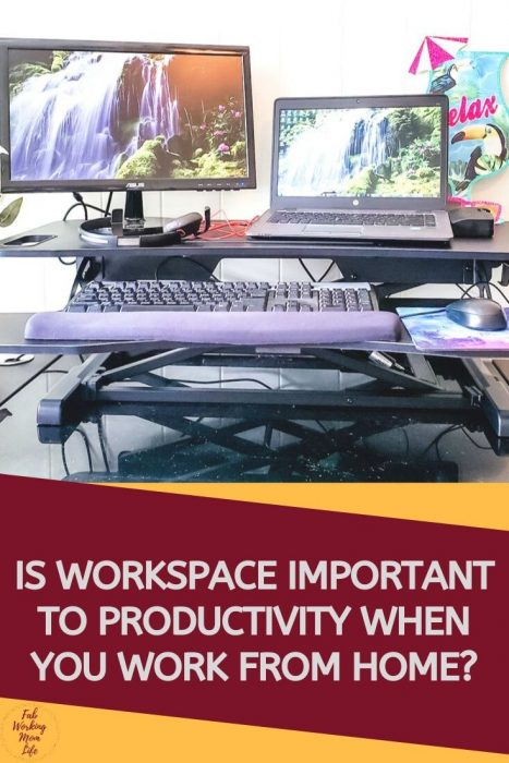 Is workspace important to productivity when you work from home