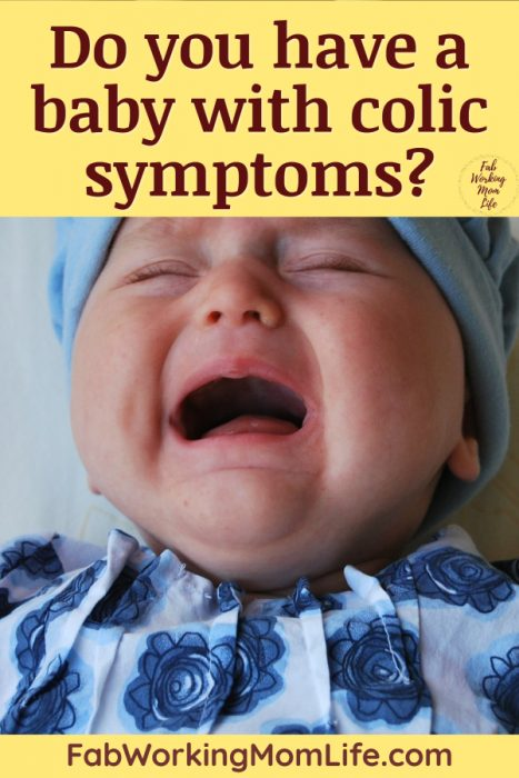 Do you have a baby with colic symptoms
