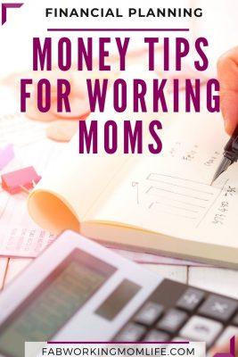money tips for working moms
