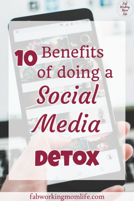 10 benefits of a social media detox
