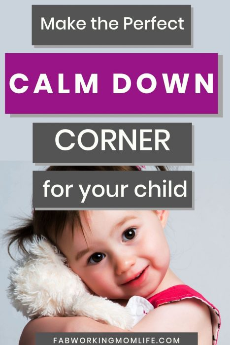 make the perfect calm down corner for your child