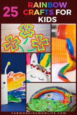 25 rainbow crafts for kids