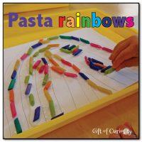 Pasta rainbows