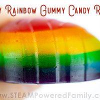 Dragon's Egg Rainbow Homemade Gummies Recipe - Delicious, fun, easy!