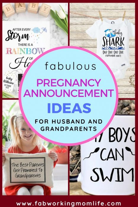 fabulous pregnancy announcement ideas for husband and grandparents