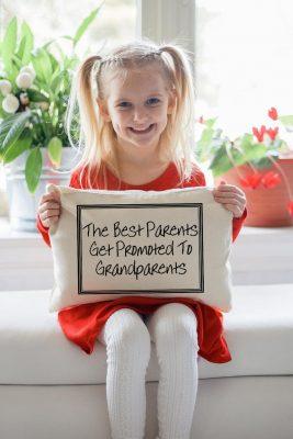 throw pillow grandparents