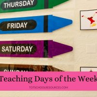 How to teach days of the week to your preschooler