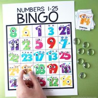 Free Printable Number Bingo