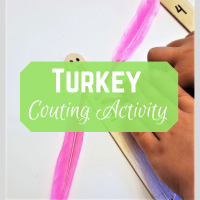 Simple Turkey Counting Activity