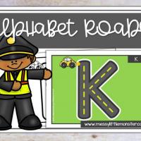 Alphabet Roads Letter Formation Printable