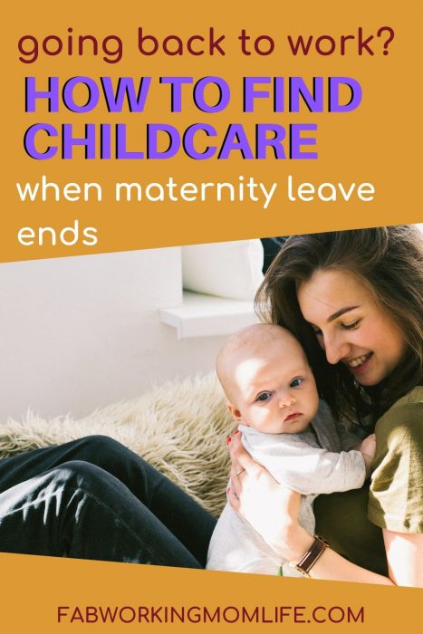 how to find childcare