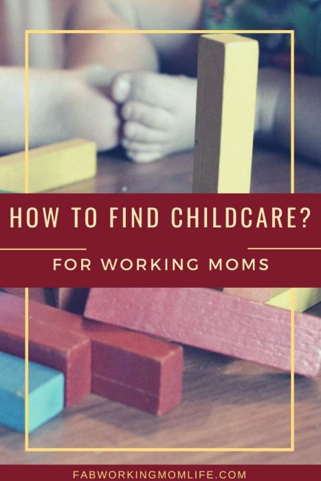 how to find childcare for working moms