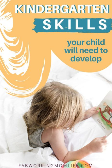 kindergarten skills your child will need to develop