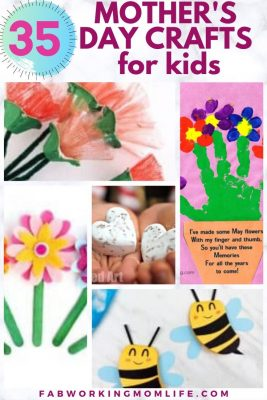 35 mother's day crafts for kids