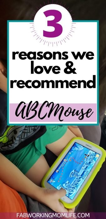 Why we love and recommend ABCMouse