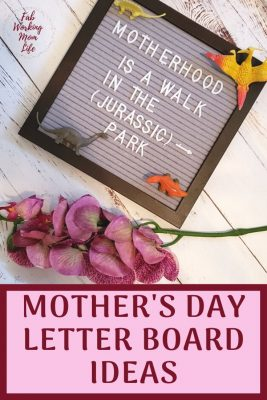mother's day letterboards