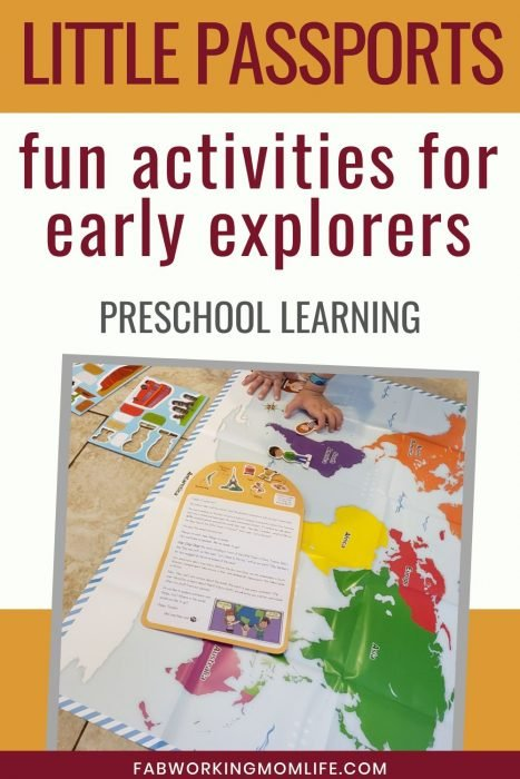 Little passports fun preschool learning activities for early explorers