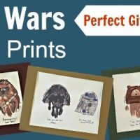 Star Wars Hand Prints for Father's Day