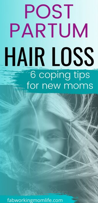coping with post partum hair loss