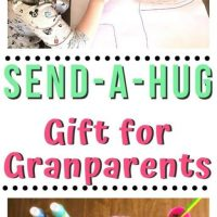 Send-a-Hug Craft: The Perfect Gift for Grandparents