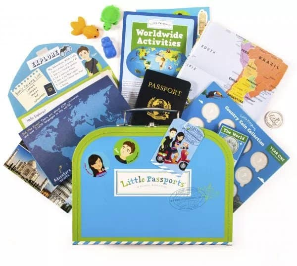 little passports summer camp in a box