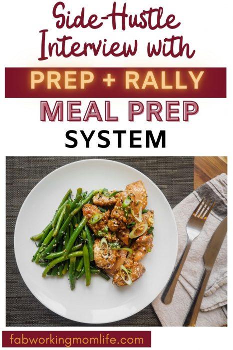 prep + rally meal prep system interview