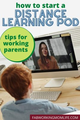 how to start a distance learning pod