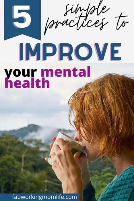 simple practices improve mental health