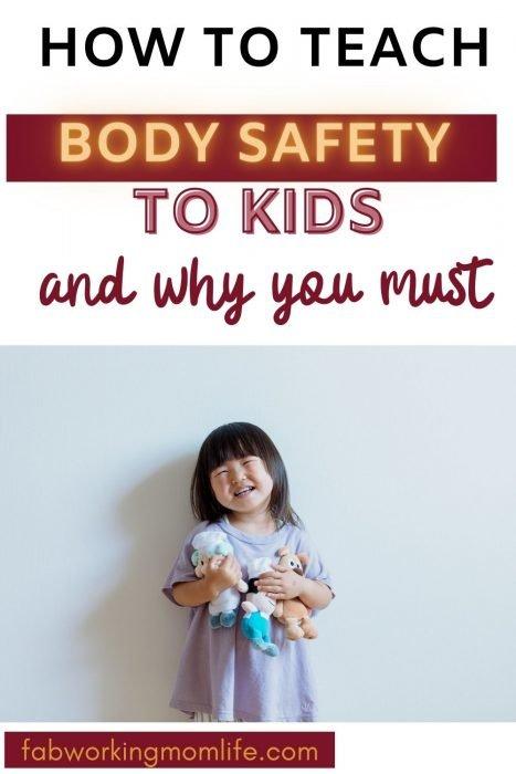 teach body safety to kids
