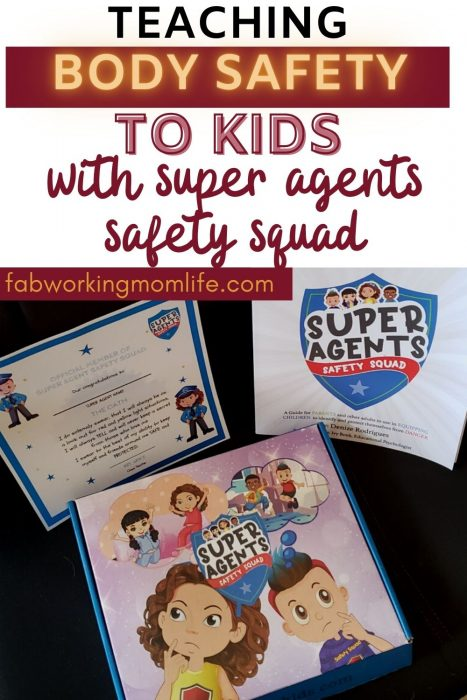 teach body safety to kids with super agents safety squad