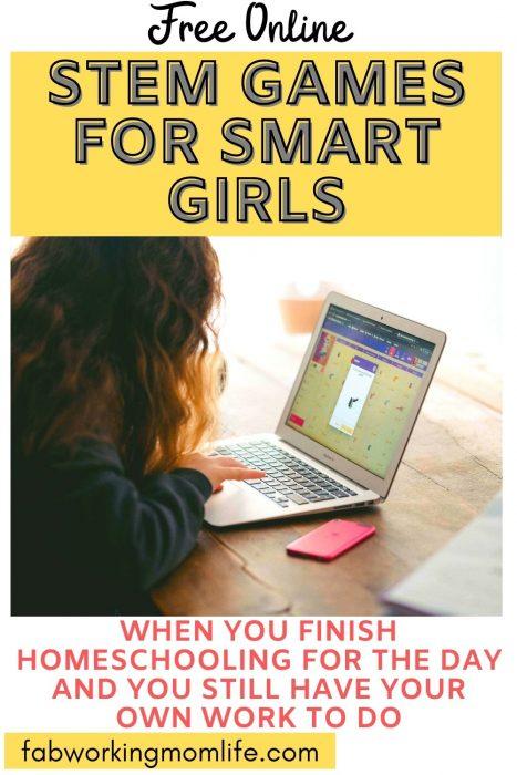 stem games for smart girls