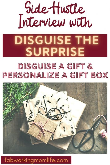side hustle disguise the surprise