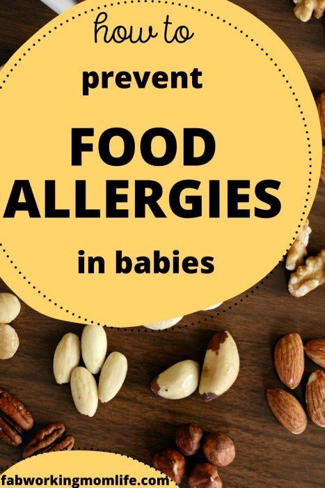 prevent food allergies in babies