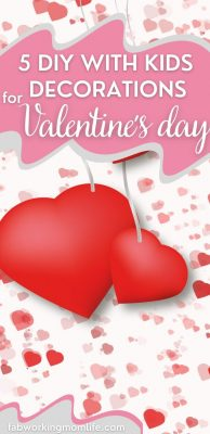 diy valentines day decorations with kids