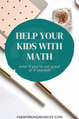 How to Help Your Kids with Math if You Yourself are Not Good at It
