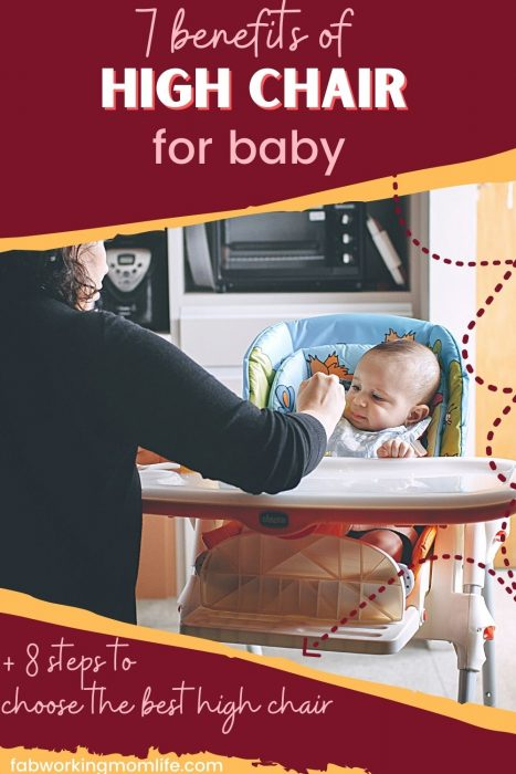 benefits of high chair for baby