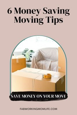 6 Money Saving Moving Tips