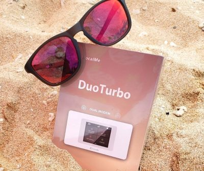Glocalme DuoTurbo Dual-Modem WiFi Hotspot