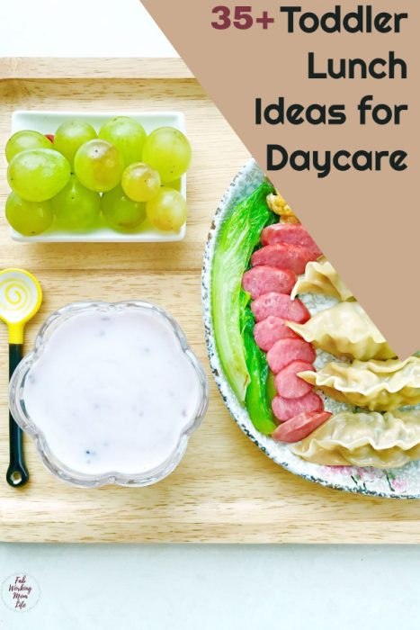 toddler daycare lunches
