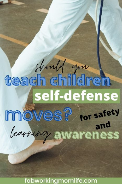 self defense for children