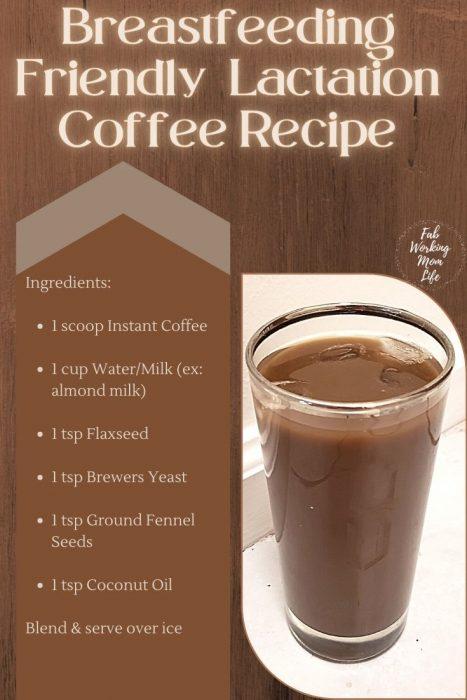 Breastfeeding Friendly Lactation Coffee Recipe