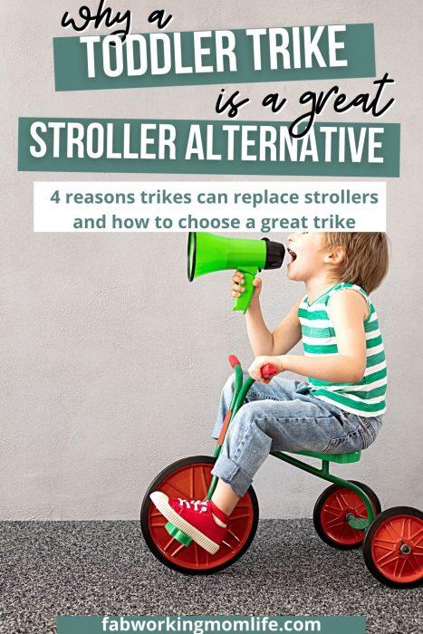 Trike Instead of a Stroller