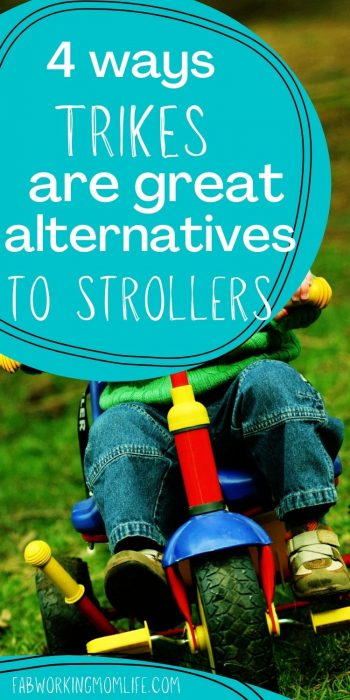 Why Trikes Can Be a Great Alternative to Strollers